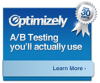 Optimizely AB Testing