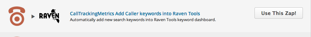 Setting up your CTM and Raven Tools Zap