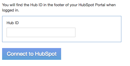 HubSpot Integration setup