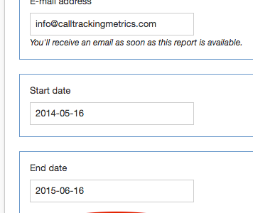 CallTrackingMetrics New Export Feature
