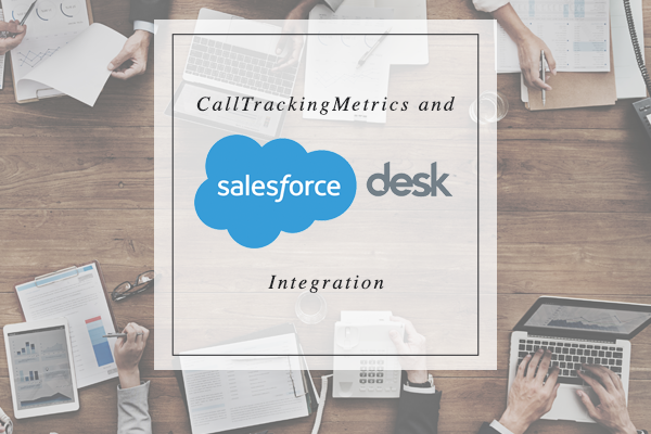 CallTrackingMetrics & Desk Integration Logo