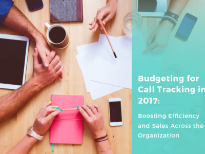 White Paper: Budgeting for Call Tracking in 2017