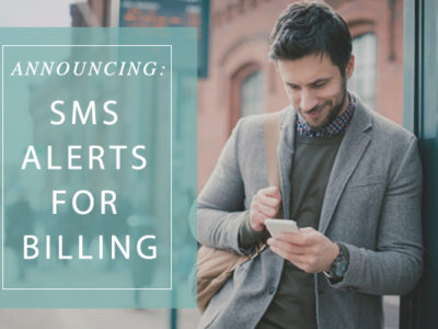 Never Miss A Critical Billing Announcement Again!