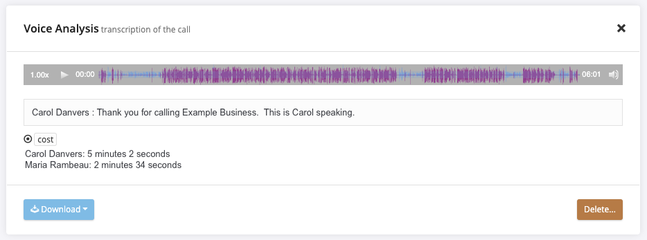 Call Recordings - CallTrackingMetrics