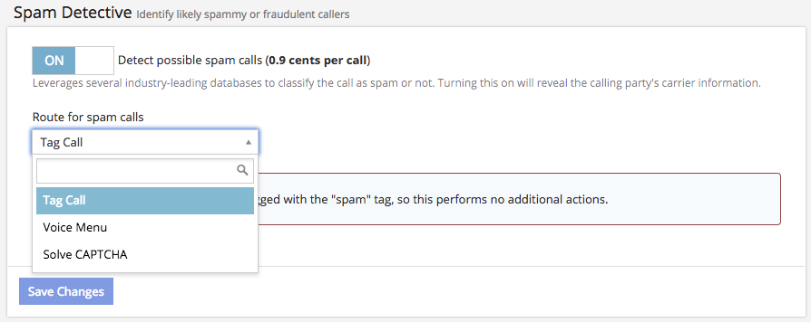 Spam Detective and Blocking Spam Calls - CallTrackingMetrics