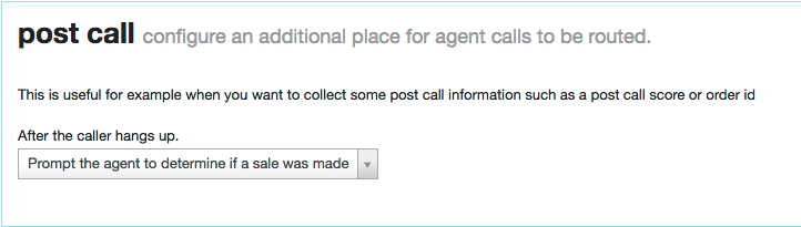Prompt the agent to determine if a sale was made