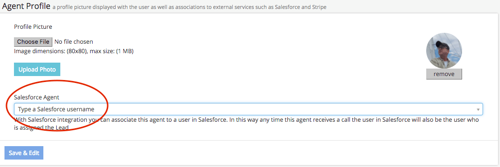 Enter Salesforce username