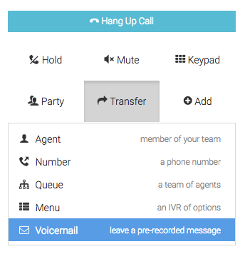 Pre recorded outbound voicemail messages help calltrackingmetrics using outbound voicemail m4hsunfo