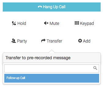 Using Outbound Voicemail