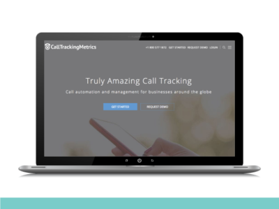 CallTrackingMetrics Launches Redesigned Website