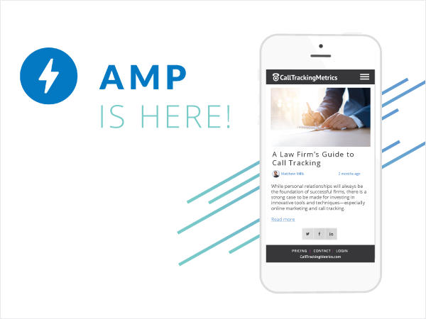 AMP and Call Tracking