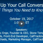 AMPing Up Your Call Conversions
