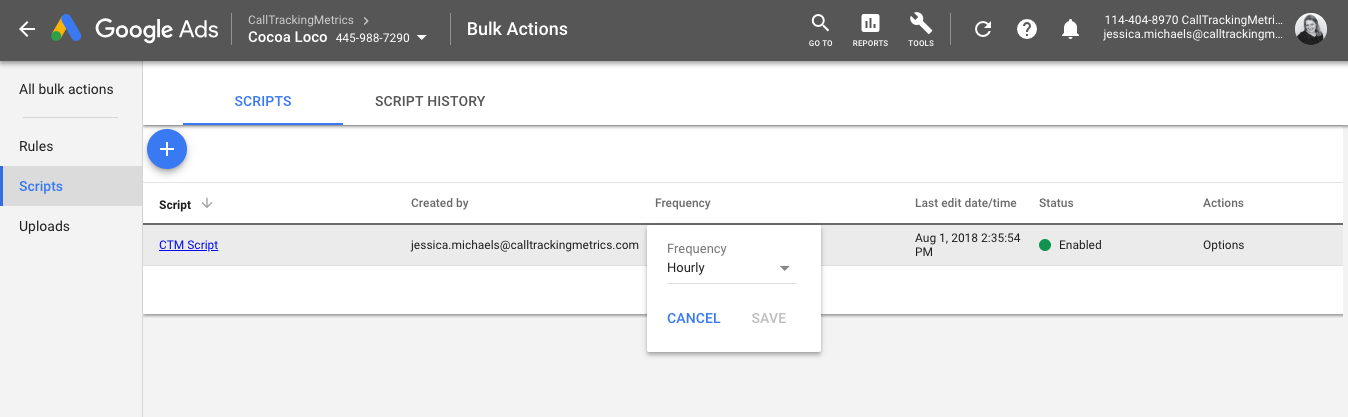 Google Ads Integration for Call-Only Ads and Call Extensions