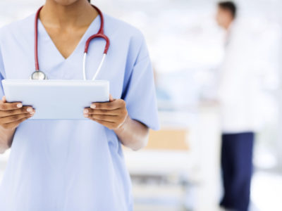 How can a healthcare provider use data in their marketing?