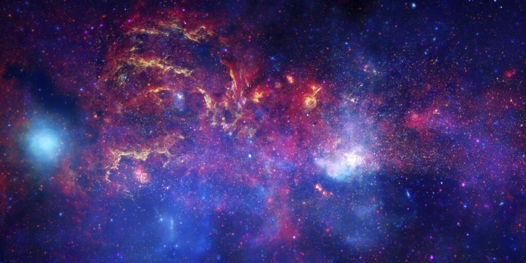NASA image of Milky Way for virtual background