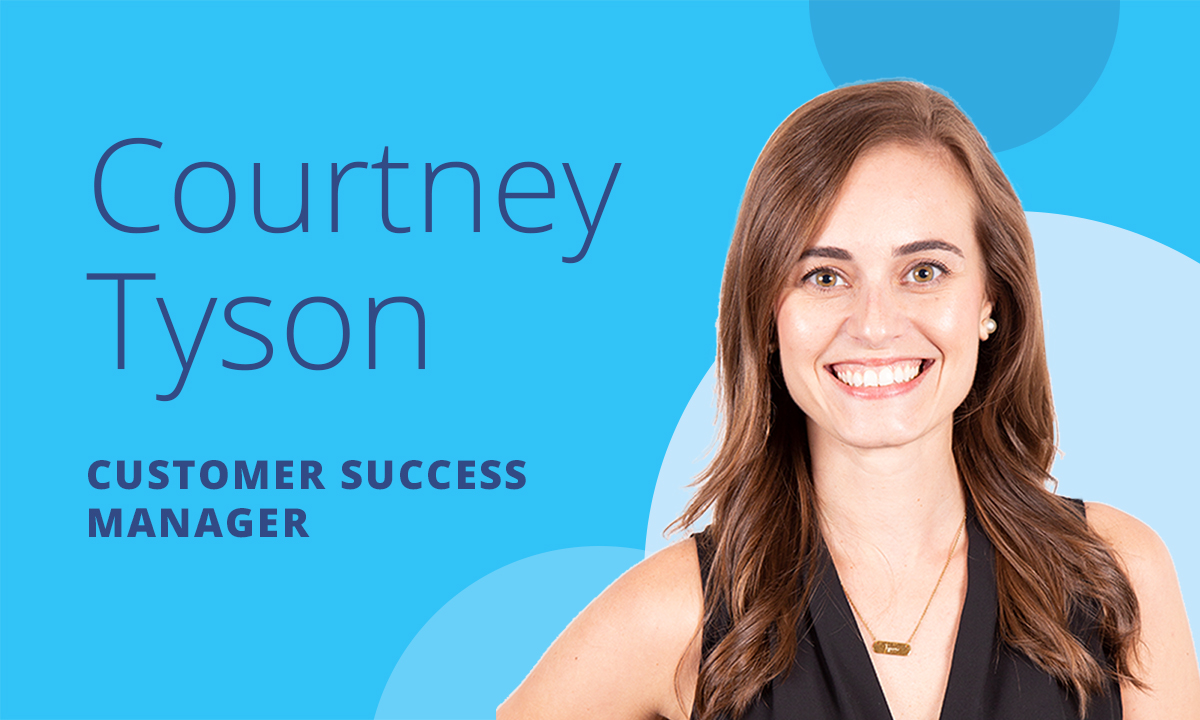 team spotlight courtney tyson customer success